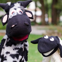 Toots the Cow and Lamba